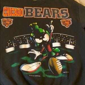 Warner Bros. Shirts - 1994 Chicago Bears Marvin The Martian Sweatershirt